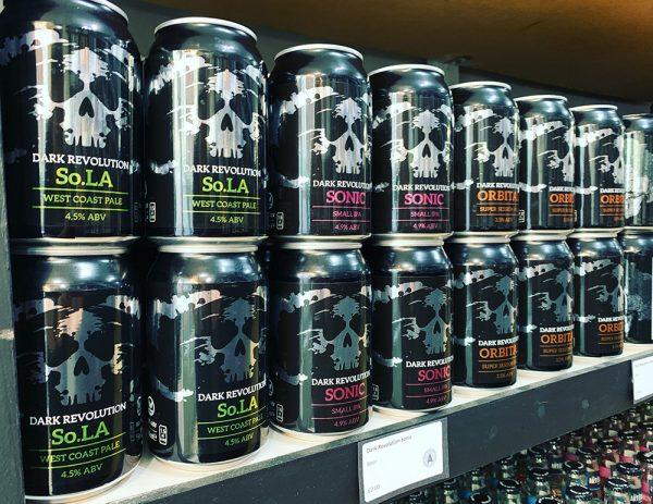 Dark Revolution Beer tasting
