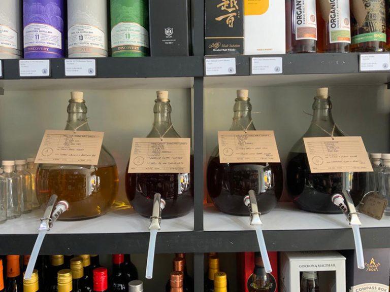 Bring a jar zero waste whisky